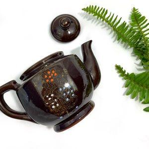 Vintage Handpainted Tea Cup/Pot (MADE IN JAPAN)